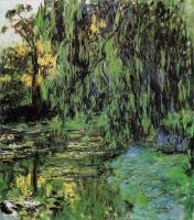 Claude Monet - Плакучая ива и пруд с кувшинками