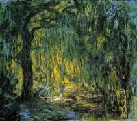 Claude Monet - Плакучая ива