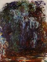 Моне Клод (Claude Monet) - Плакучая ива