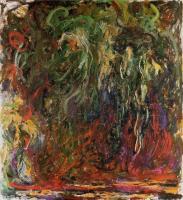 Моне Клод (Claude Monet) - Плакучая ива, Живерни