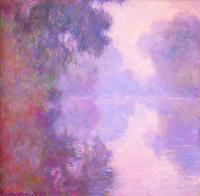 Claude Monet - Туманное  утро над Сеной