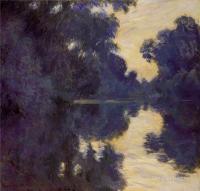 Claude Monet - Утро над Сеной