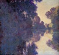 Claude Monet - Утро над Сеной, ясная погода