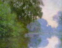 Claude Monet - Сена рядом с Живерни