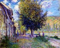 Claude Monet - Побережье Сены у Лавакорта