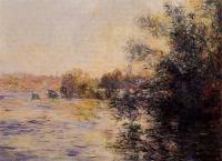 Моне Клод (Claude Monet) - Сена с наступлением вечера