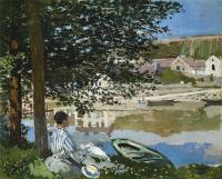 Моне Клод (Claude Monet) - Река в Беннекурте