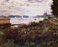 Моне Клод (Claude Monet) - Побережье реки в Аржантёе