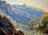 Claude Monet - Река в солнечном свете