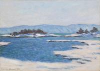 Claude Monet - Край фьёрда, Кристиания