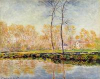Claude Monet - Берег реки Эпт, Живерни