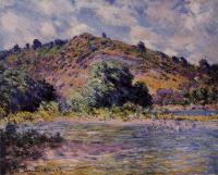 Claude Monet - Берега Сены, Порт-Вилле