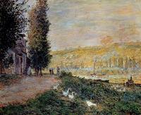 Claude Monet - Берега Сены, Лавакурт