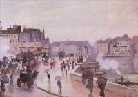 Моне Клод (Claude Monet) - Новый Мост