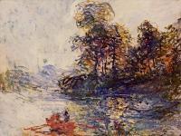Моне Клод (Claude Monet) - Река