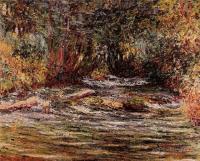 Моне Клод (Claude Monet) - Река Эпт в Живерни