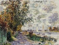 Claude Monet - Берег реки