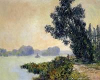 Моне Клод (Claude Monet) - Берег реки