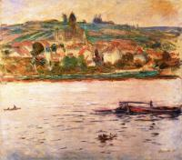 Claude Monet - Баржа на Сене в Витёе (Витёй)
