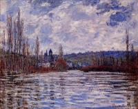 Моне Клод (Claude Monet) - Туман над Сеной, Витёй