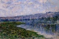 Claude Monet - Сена и холмы Шато
