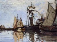 Моне Клод (Claude Monet) - Лодки в Порту Онфлёр