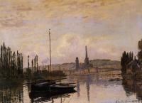 Моне Клод (Claude Monet) - Виды Руана