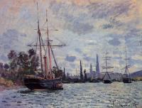 Моне Клод (Claude Monet) - Сена близ Руана