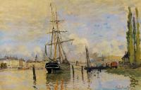 Claude Monet - Сена близ Руана