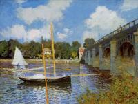 Моне Клод (Claude Monet) - Дорожный мост в Аржентёе