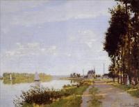 Моне Клод (Claude Monet) - Прогулка по Аржантёю