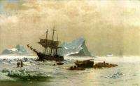 Моне Клод (Claude Monet) - Льдины
