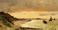 Моне Клод (Claude Monet) - Морское побережье, Сен-Адрес