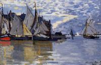 Моне Клод (Claude Monet) - Парусники