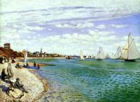 Claude Monet - Регата в Сент-Адресс