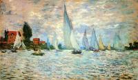 Моне Клод (Claude Monet) - Регата в Аржантёе