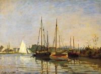 Claude Monet - Прогулочные лодки