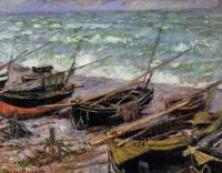Море в живописи ( морские пейзажи, seascapes ) - Рыбацкие лодки