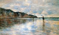 Claude Monet - Пурвилль во время отлива