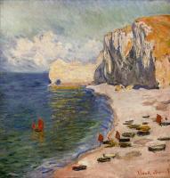 Моне Клод (Claude Monet) - Пляж и скалы
