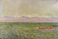 Моне Клод (Claude Monet) - Море и Альпы
