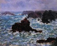 Море в живописи ( морские пейзажи, seascapes ) - Под дождём