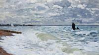 Море в живописи ( морские пейзажи, seascapes ) - Море в Сен-Адрес