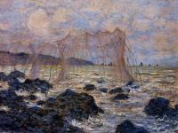 Море в живописи ( морские пейзажи, seascapes ) - Рыболовные сети в Пурвилле