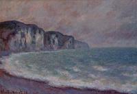 Claude Monet - Скала в Пурвилле