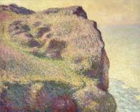 Claude Monet - Верхушка скалы, Пти Альи