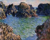 Claude Monet - Порт Гульфар. Бель-Иль