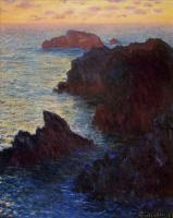 Моне Клод (Claude Monet) - Камни в Порт-Гульфар