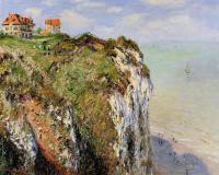 Моне Клод (Claude Monet) - Скала в Дьеппе