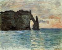 Claude Monet - Скала в Этрете